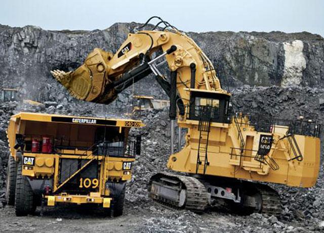 موتور دیزل در معدن