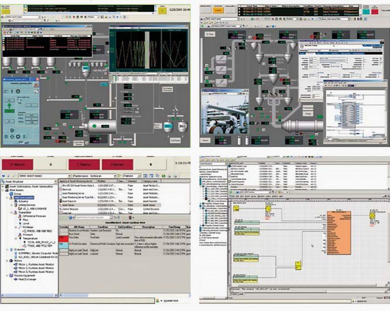 شکل 8 - سیستم 800xA ABB، بصری ترین رابط کاربری در صنعت،