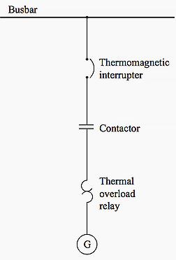 شکل4- شماتیک بریکر حافظت ولتاژ پایین برای موتور کم توان