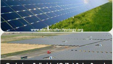 سلول خورشیدی کادمیم تلورید