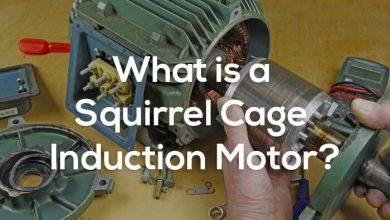 تصویر موتور القایی قفس سنجابی- اصول عملکرد-ساختار و کاربردها و انواع کلاس های موتور القایی