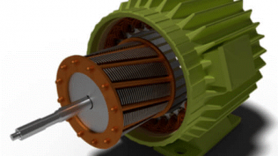 تصویر موتورالقایی سه فاز و اصول عملکرد-تعریف موتورالقایی سه فاز